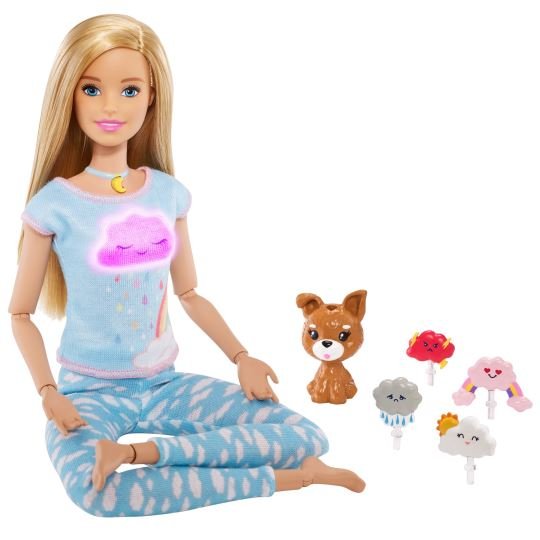Barbie Wellness - Barbie Nefes Egzersizi Bebeği