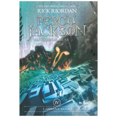 Labirent Savaşı Percy Jackson ve Olimposlular 4 HC