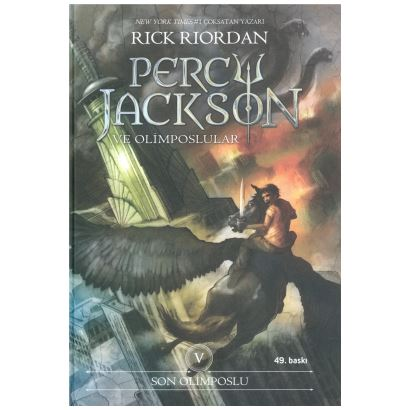 Son Olimposlu Percy Jackson ve Olimposlular 5 HC