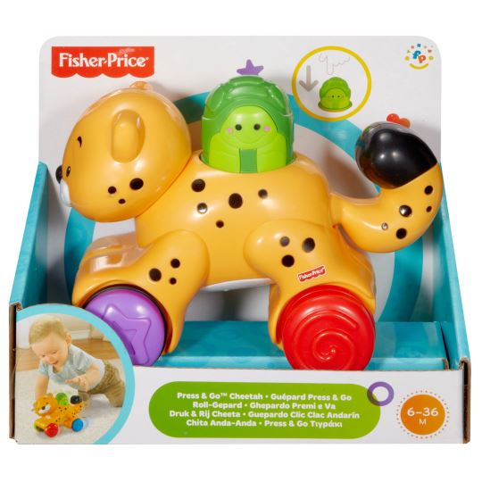 Fisher Price Press&Go Araç Çita