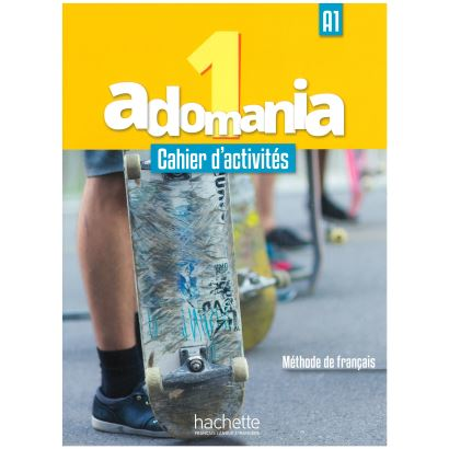 Adomania 1 Cahier D,Activites + Cd Audio