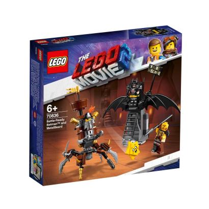 LEGO® movie 2 Battle-Ready Batman And Metalbeard