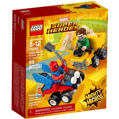 LEGO® movie 2 Mighty Micros Scarlet Spıder Vs Sandman