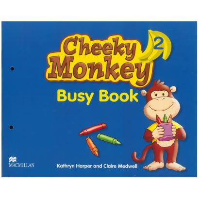 Cheeky Monkey Busy Book  2