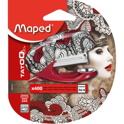 Maped Tatoo Mini Zımba Makinesi Zımba Hediyeli