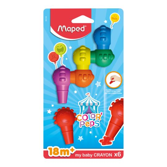 Maped Color'Peps 6 Renk