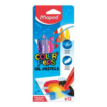 Maped Color'Peps 12 Renk Pastel Boya