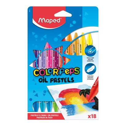 Maped Color'Peps 18 Renk Pastel Boya