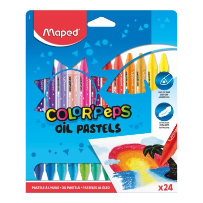 Maped Color'Peps 24 Renk Pastel Boya