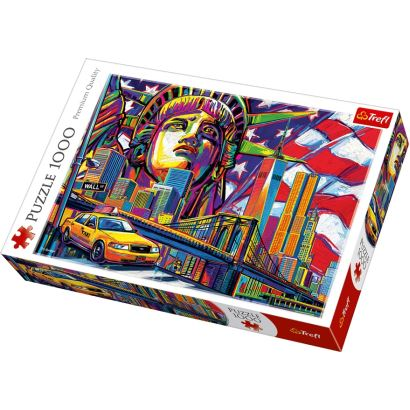 Trefl Colours Of New York 1000 Parça Puzzle