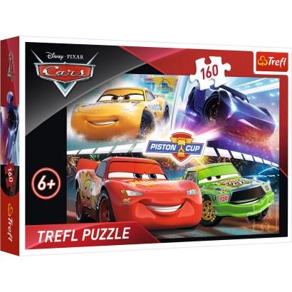 Trefl Winning The Race / Disney Cars 3 160 Parça Puzzle