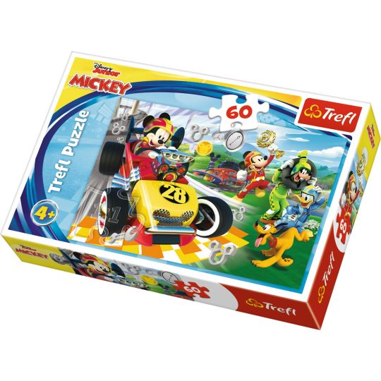 Trefl Rally With Friends / Disney Mickey And The Roadster Racers 60 Parça Puzzle