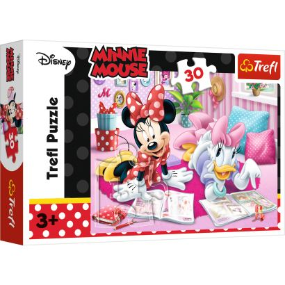 Trefl Best Friends / Disney Minnie 30 Parça Puzzle